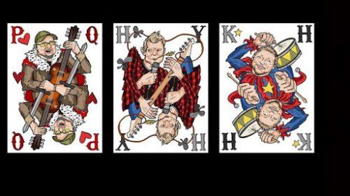 Paul Quinn the cards