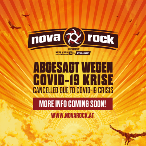 nova rock 2020 canceled